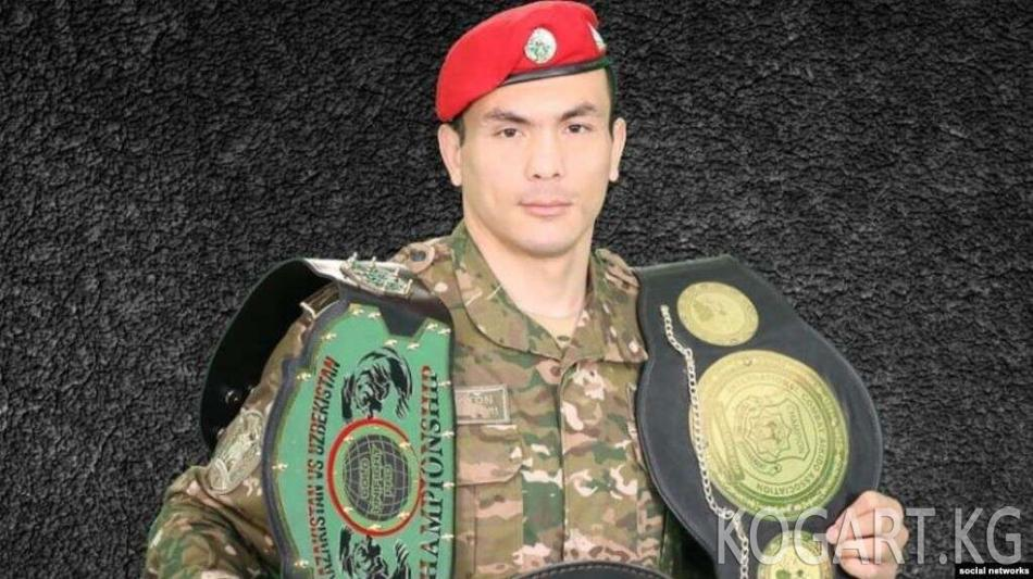 Өзбекстандык мушкер Бекзод Нурматов Грозныйдагы мелдештен кийин мерт болду