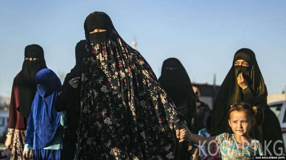 УКМК: Сириядагы лагерлерде 500дөй кыргызстандык кармалып турат