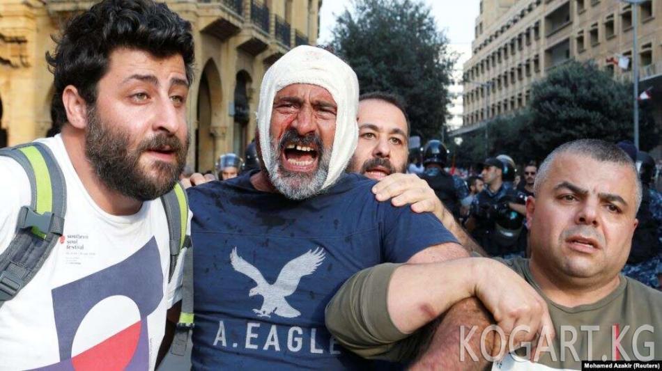 Бейрутта демонстранттар 171 чакырым