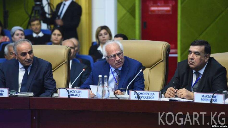 Душанбе ирандык оппозиционерлерди кабыл алды