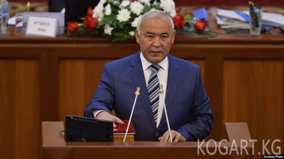 Economist.kg: депутат Жумалиев 33 фирмасын декларацияда көрсөткөн эмес