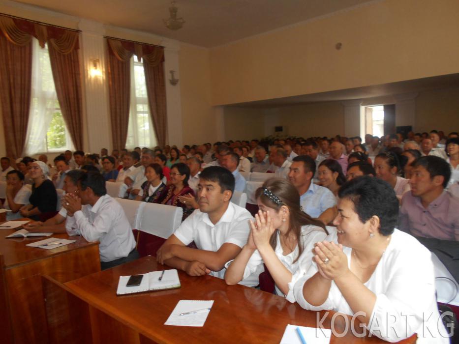Жалал-Абадда мамлекеттик жана муниципалдык кызматкерлер үчүн семинар...