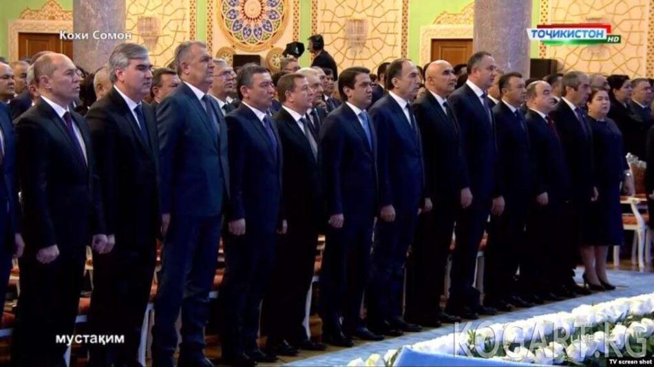 Эмомали Рахмон банкирлерди сындады
