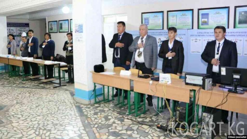 Өзбекстанда парламентке беш партия өттү