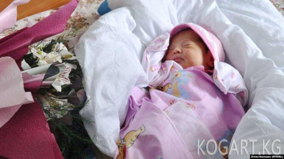 Жаңы жыл түнү Кыргызстанда 261 ымыркай төрөлдү