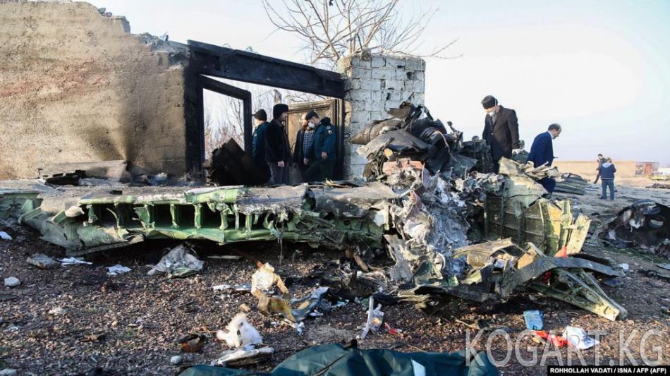 Иран: Кулаган учактагы 167 кишинин баары мерт болду