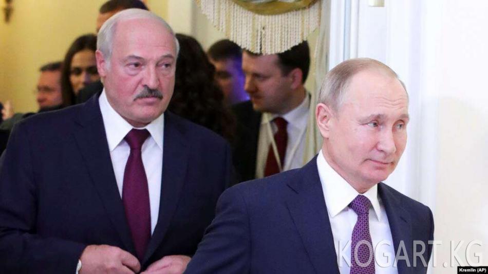 Лукашенко: Орусия Беларустун Казакстандан мунай сатып алуусуна бут...