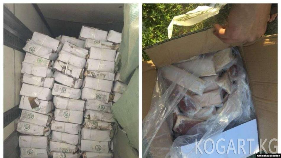 Кыргызстан Кытайдан эт ташып кирүүгө убактылуу чектөө койду