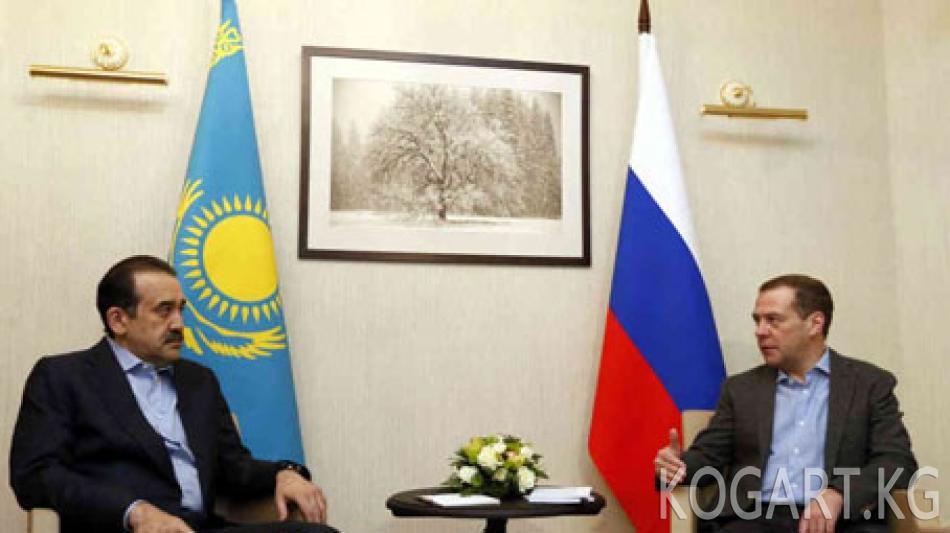 Казак премьер-министри Масимов Монголияга барды