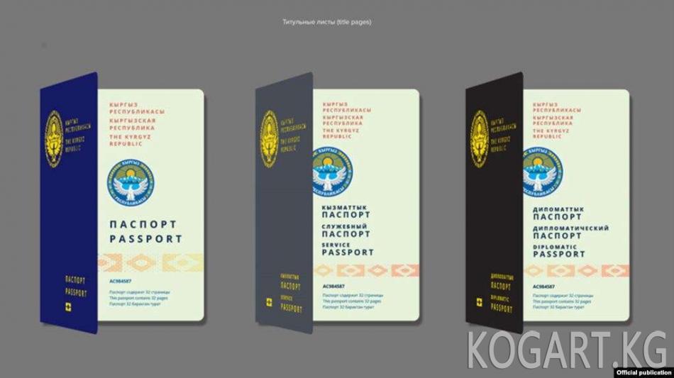 Мамкаттоо: Биометрикалык паспорт 2021-жылдан тартып бериле баштайт