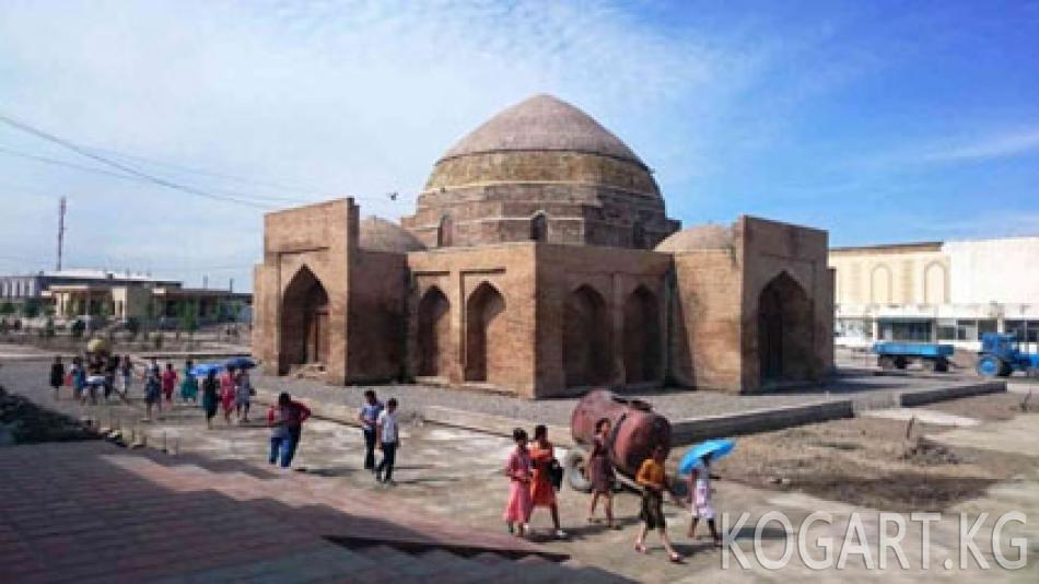 Шахрисабз шаарынын тарыхый бөлүгү жок болуп кетчү объекттер...