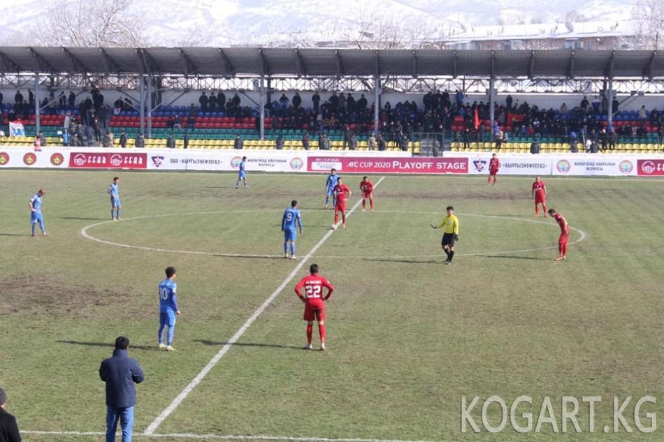 """Кочкор-Атанын """"Нефтчи"""" командасы «Худжанд» клубун 1:0гө утуп алды"""