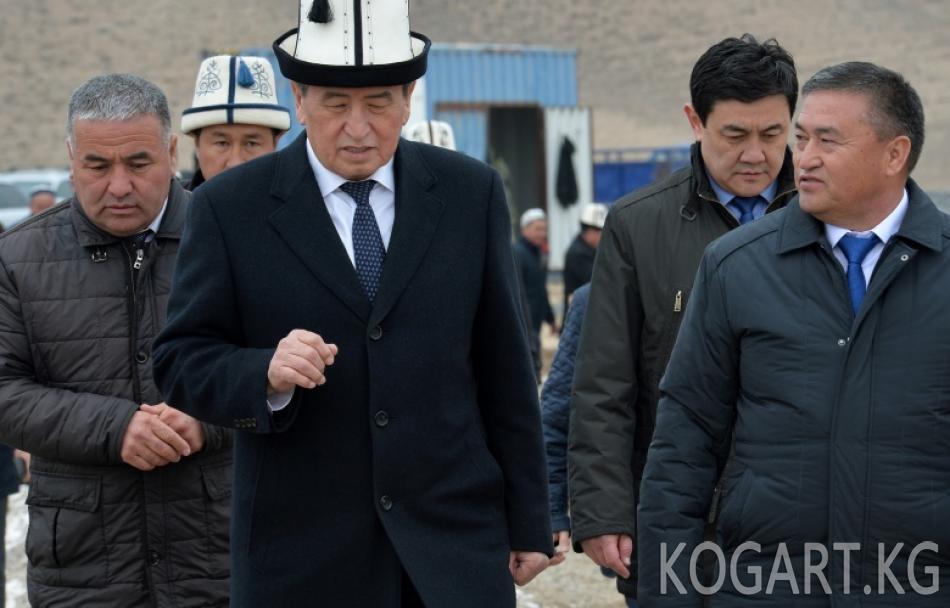 Президент Сооронбай Жээнбеков: Биз атамекендик продукцияларды чет...