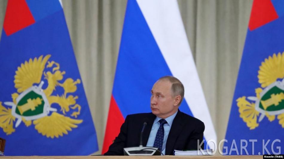 Орусияда Конституцияга киргизилген өзгөртүүлөр боюнча добуш берүү...