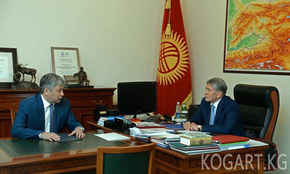 Президент А.Атамбаев: Кыргызстан боордош Түркия Республикасынын...