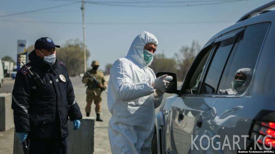 Кыргызстанда коронавирус дагы 10 кишиден табылды