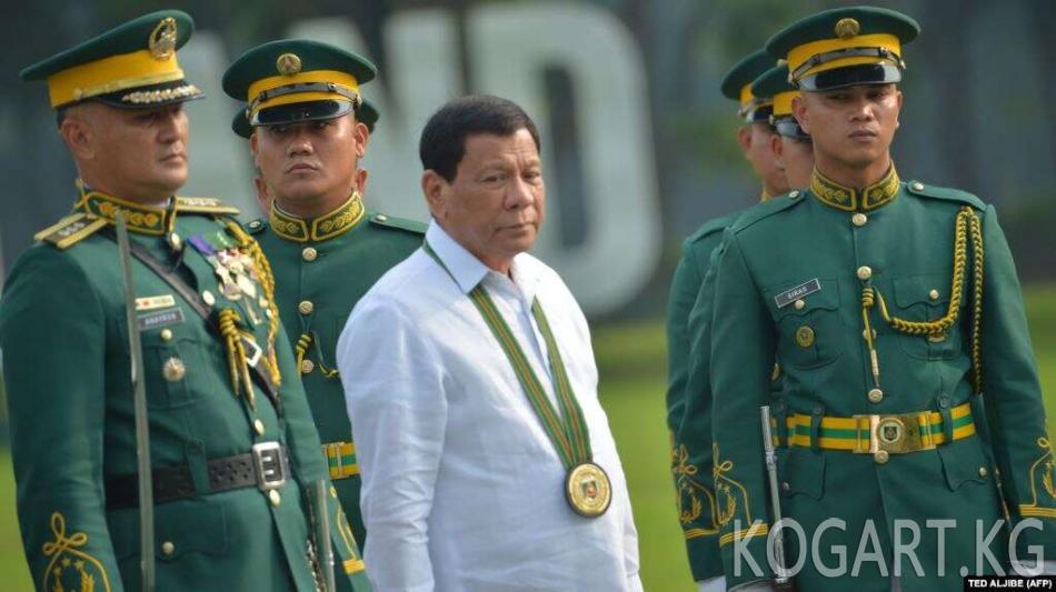 Филиппин президенти коронавирус жуктургандар каршылык көрсөтсө,...
