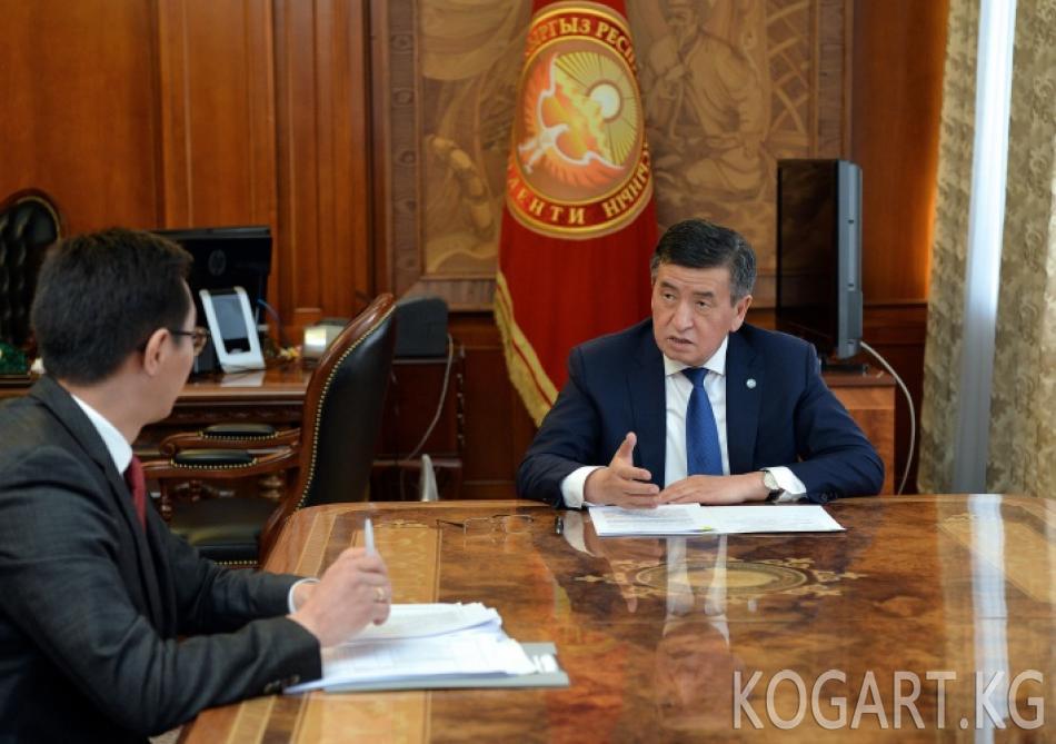 Президент Сооронбай Жээнбеков азыркы шарттарда коронавирус инфекциясы менен...