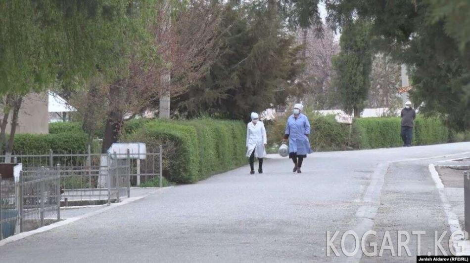 Министр: Коронавируска чалдыккан медкызматкерлердин абалы жакшы