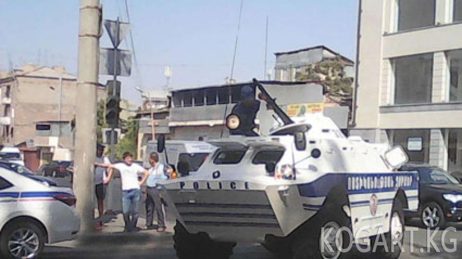 Ереванда оппозициячыл активисттер камалды