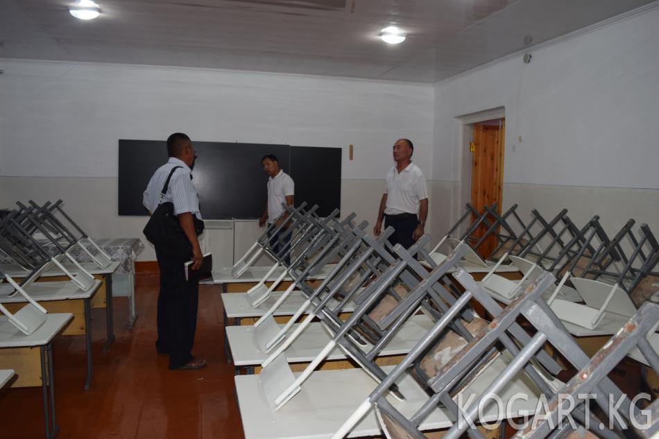 Жалал-Абад шаарында мектептердин жаңы окуу жылына даярдыктары...