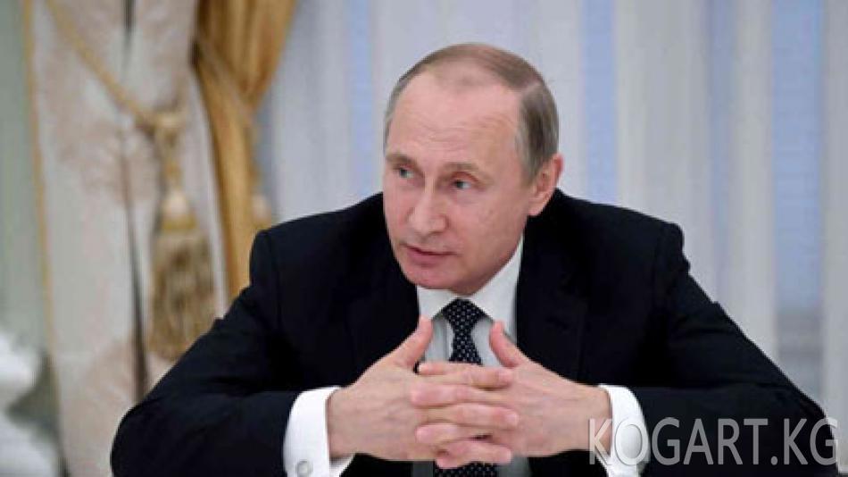 """Путин WADA баяндамасын """"геосаясий басымга"""" байланыштырды"""