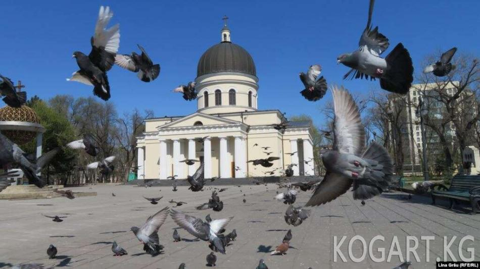 Молдованын православ чиркөөсү коронавируска каршы эмдөөдөн күмөн...