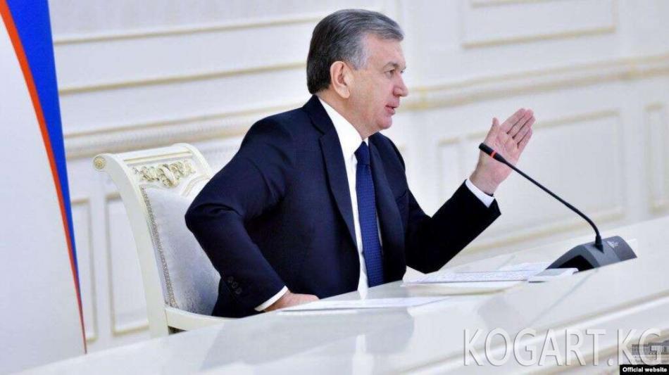 Мирзиёев өзүн иш менен камсыздаган ишкерлерди киреше салыгынан...