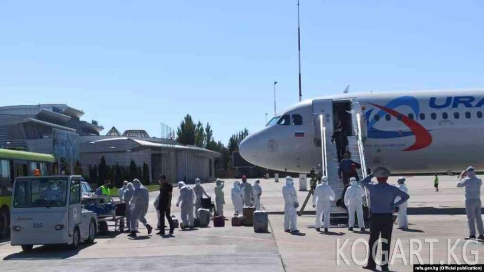 Оренбург облусунан 413 кыргызстандык Бишкекке жеткирилди