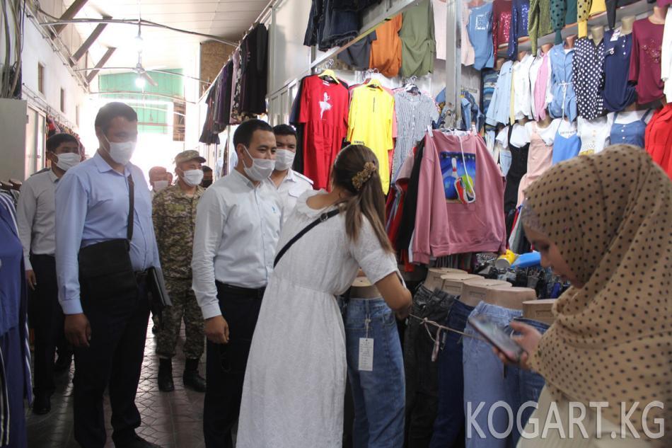 Жалал-Абадда санитардык талаптарды аткарбагандар айыпка жыгылды...