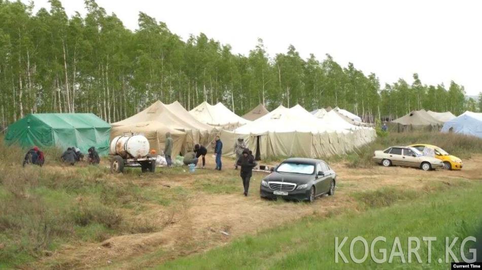 Казак-орус чек арасында калган өзбекстандыктарга Самара облусунда...
