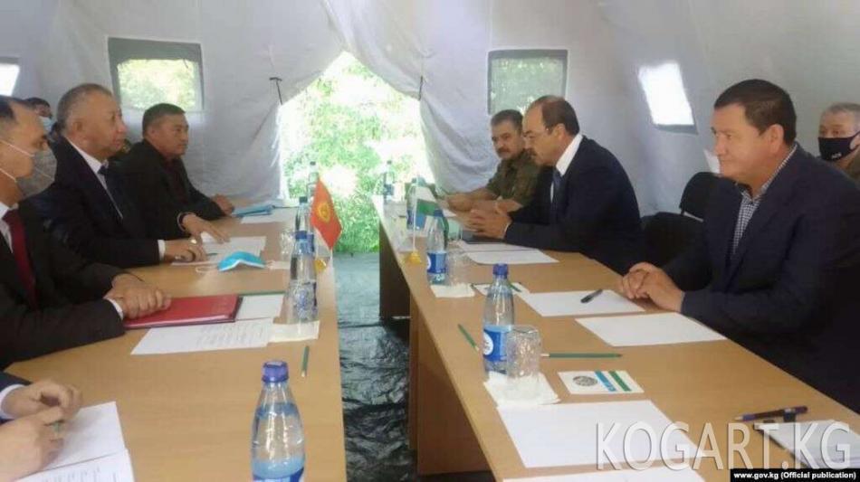 Өзбекстан ТИМи чек арадагы чырды