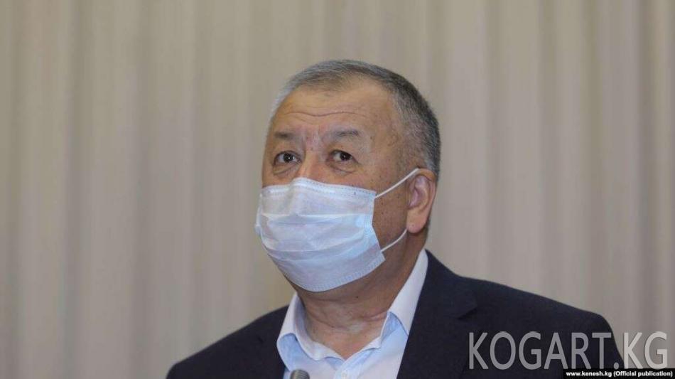 Боронов: Өзбекстан чек ара боюнча үч маселе койду