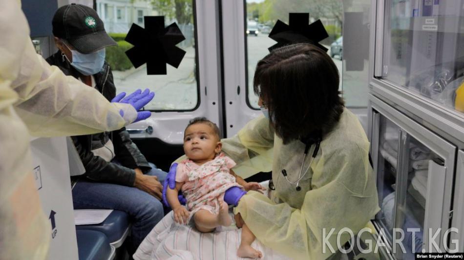 Кыргызстанда коронавирус жуккандардын 33ү бирге толо элек ымыркайлар