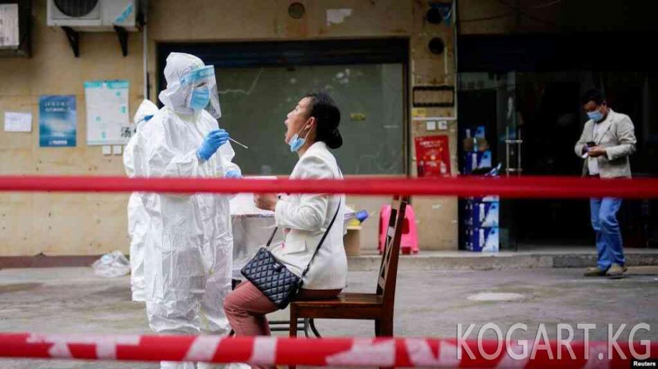 Кытайда коронавирус жуктургандар көбөйө баштады