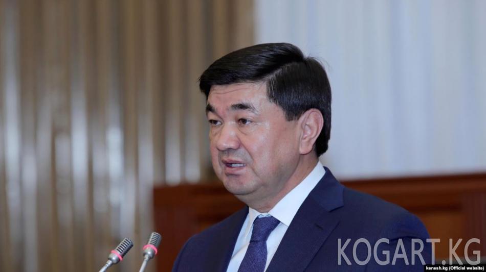 Кыргыз Республикасынын Президенти Сооронбай Жээнбеков...