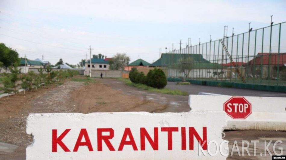 Өзбекстан: жарандардын өз эсебинен мейманканаларга карантинге...