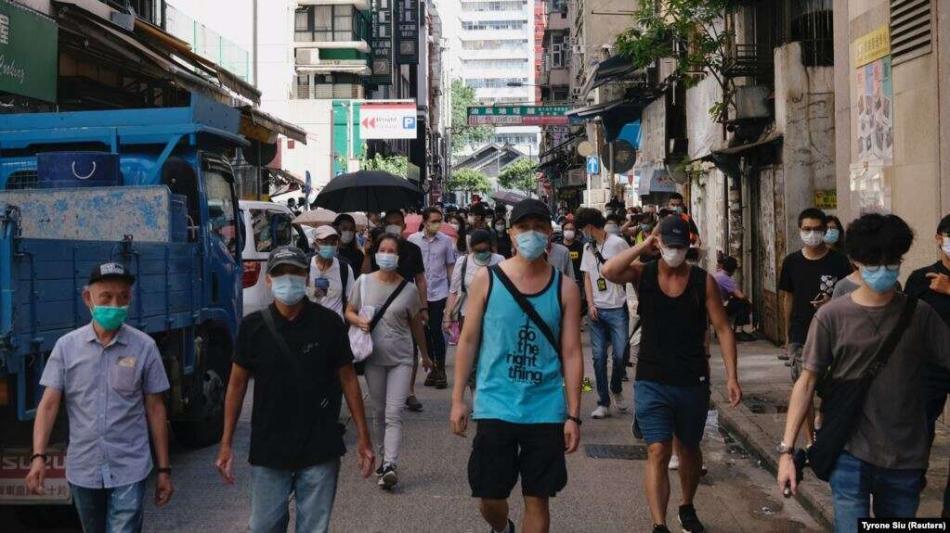 Гонконгдо нааразылык акциянын 50 катышуучусу кармалды