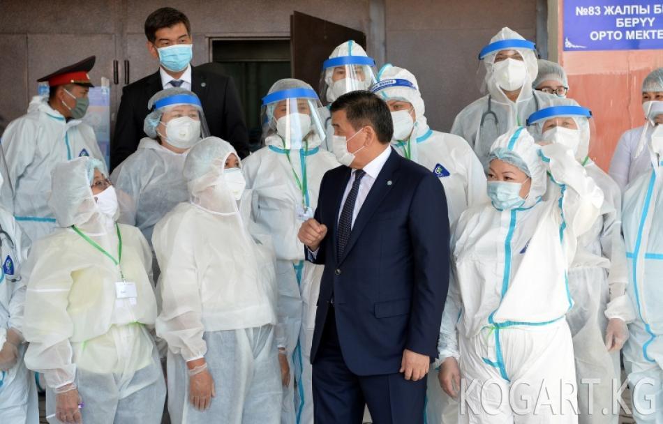 Президент Сооронбай Жээнбеков: Өлкөбүздүн бардык жарандарындай эле мен биздин...