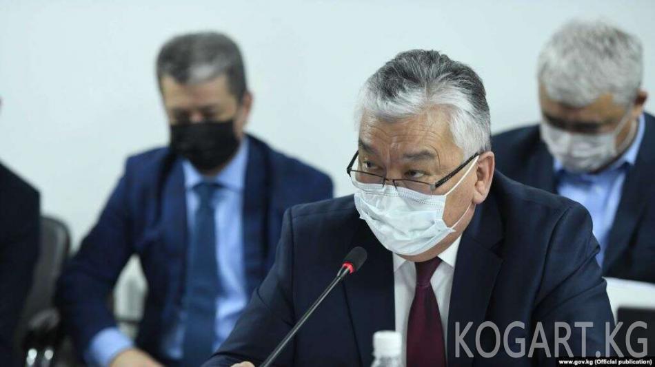 Каратаев: Саламаттык сактоо министри Германияда эмес, Бишкекте...