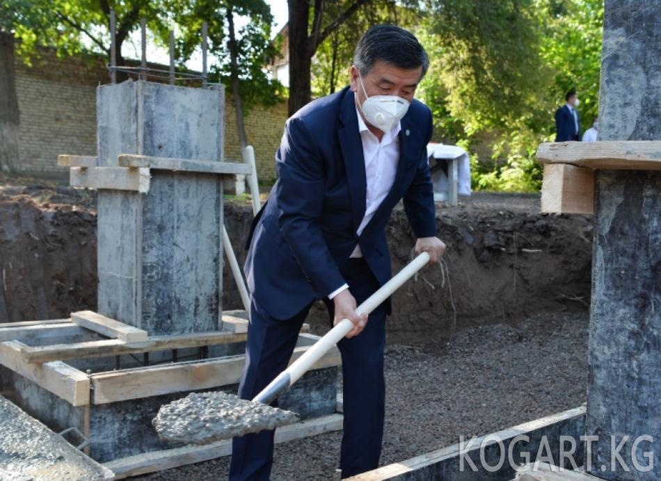 Бишкек шаарында кошумча жугуштуу оорулар ооруканасынын курулушу...