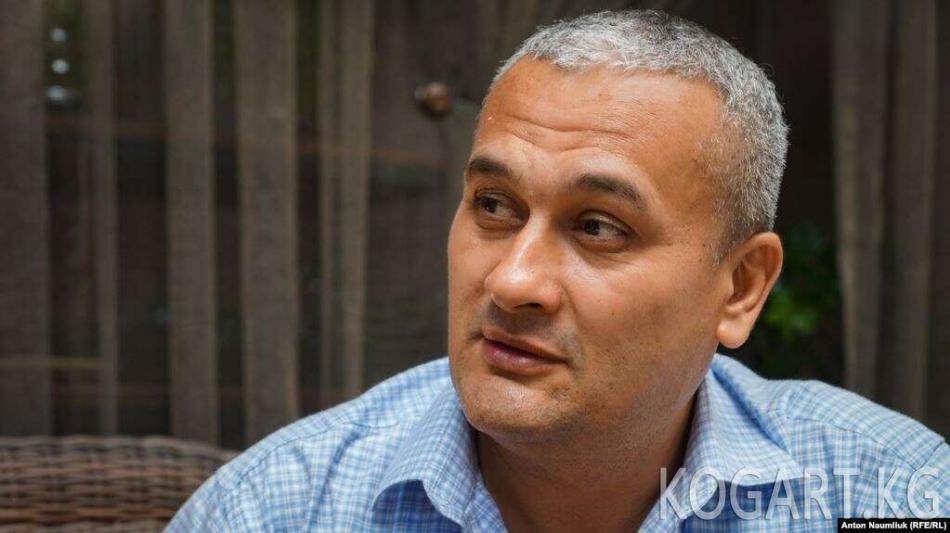 Ташкентте Кыргызстан өткөрүп берген өзбекстандык журналист тилкат...