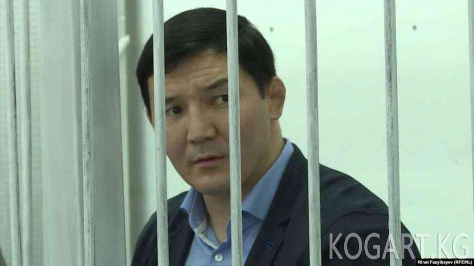 Мурдагы депутат Дамирбек Асылбек уулу түрмөдөн чыкты