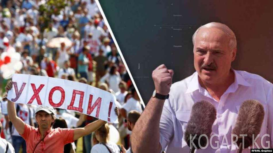 Лукашенконун бронежилет кийип, автомат көтөрүп жүргөн видеосу...