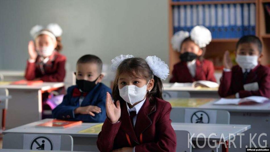 6-октябрдан тартып 1-6-класстардын окуучулары мектептерде окуусун...