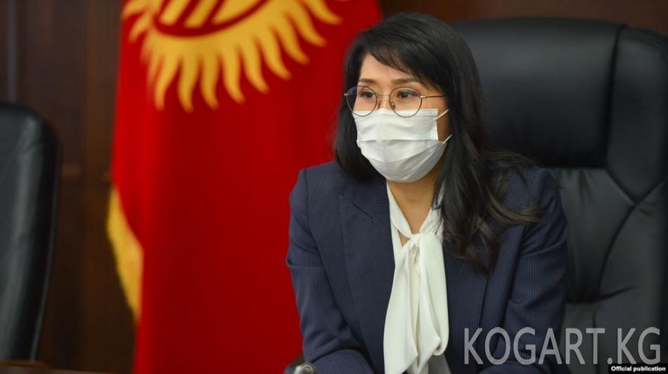 Министрликке талапкер Аида Исмаилова депутаттардын сынына кабылды