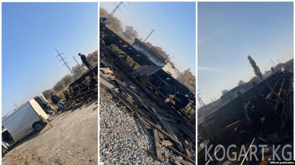 «Кыргыз темир жолу» ишканасынын бөлүм башчысы вагондорду сатууга шектелип кармалды