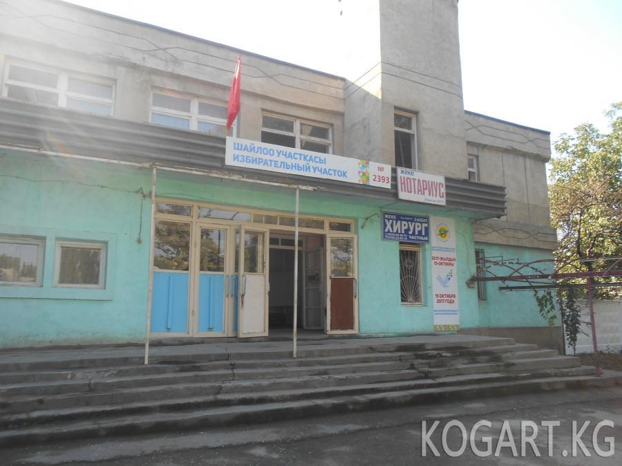 Сузак районундагы №2393 шайлоо участкасы талапка жооп бербейт(ФОТО)