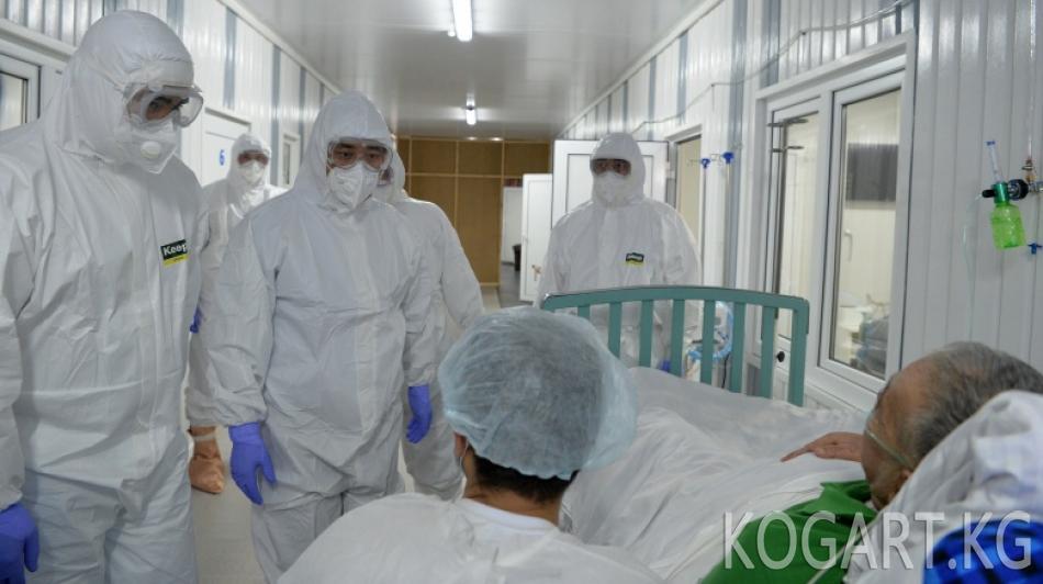 Президент Бишкек жана Чүй облусундагы медициналык мекемелердин коронавирус...