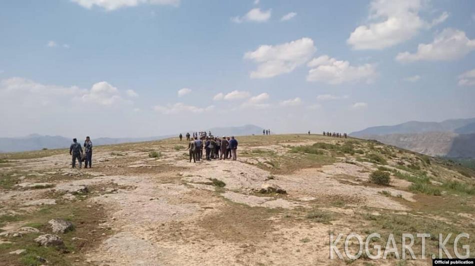Кыргыз-өзбек чек арасындагы окуяны милиция териштире баштады